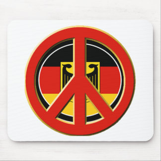 Peace for Germany Mouse Pad