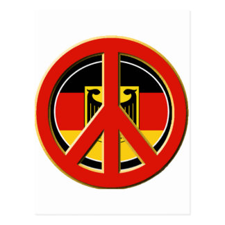 Peace for Germany Postcard