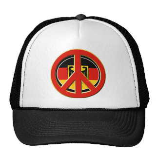 Peace for Germany Trucker Hat