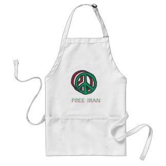 Peace for Iran Aprons
