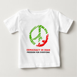 peace for Iran Baby T-Shirt