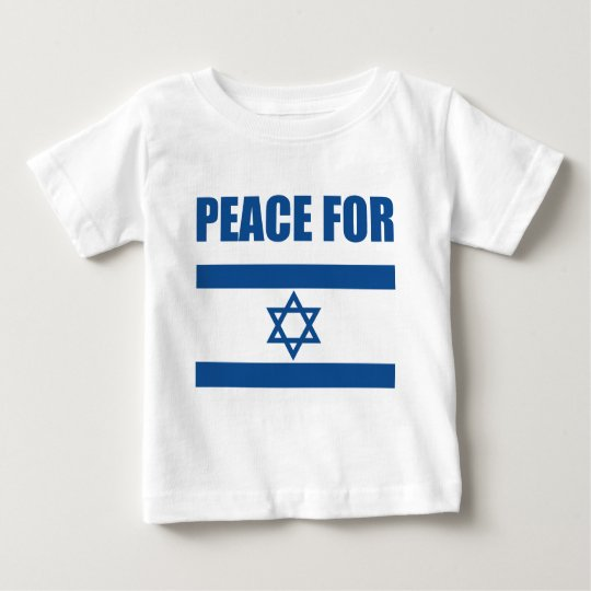 Peace for Israel Baby T-Shirt
