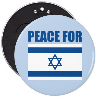Peace for Israel Button