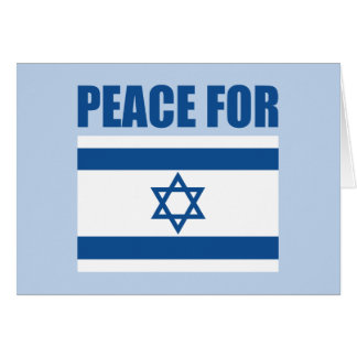 Peace for Israel Greeting Card
