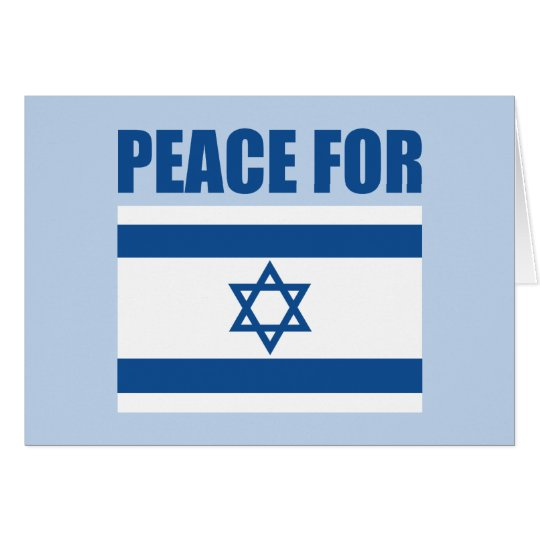Peace for Israel Card