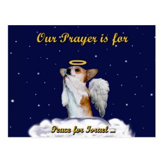 Peace for Israel Prayer Postcard