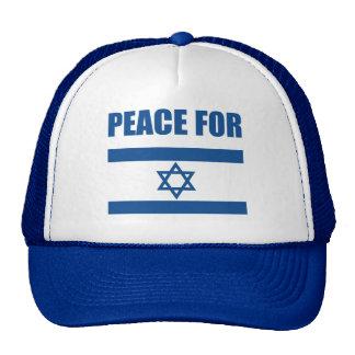 Peace for Israel Trucker Hat