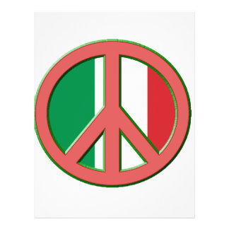 Peace for Italy Flyer