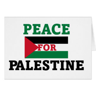 Peace for Palestine Card