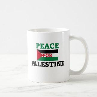 Peace for Palestine Coffee Mug