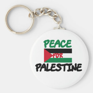 Peace for Palestine Keychain