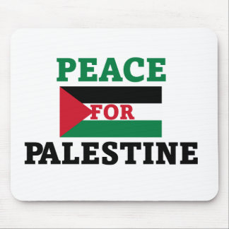 Peace for Palestine Mouse Pad