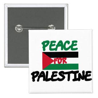 Peace for Palestine Pinback Button