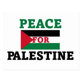 Peace for Palestine Postcard