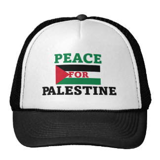 Peace for Palestine Trucker Hat