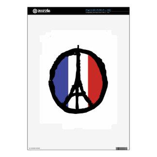 Peace For Paris iPad 2 Decal