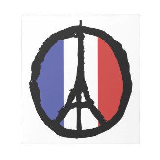 Peace For Paris Notepad