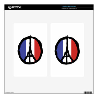 Peace For Paris Skin For Kindle Fire