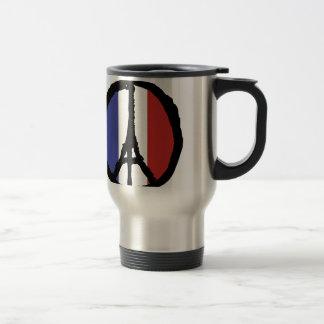 Peace For Paris Travel Mug