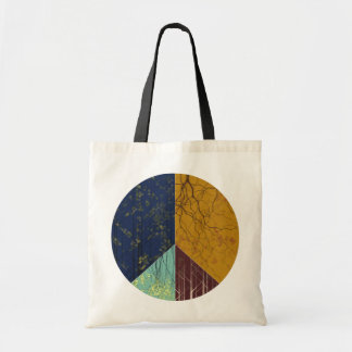 Peace Forest Tote Bag