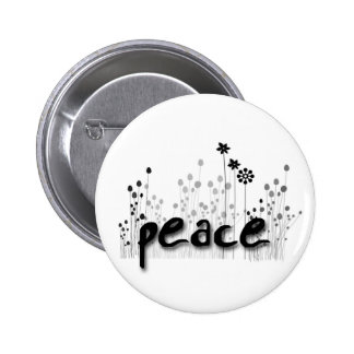 Peace FOS 2 Inch Round Button
