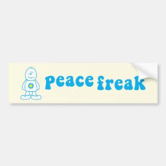 Peace Freak Bumper Sticker