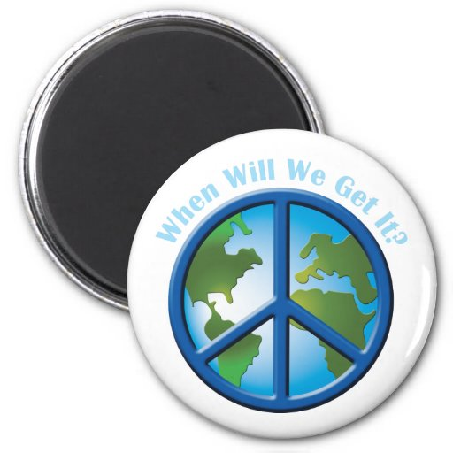 Peace Fridge Magnet
