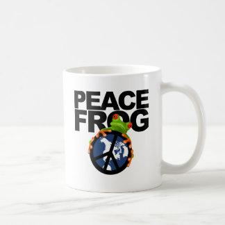 Peace, Frog-2 Coffee Mug