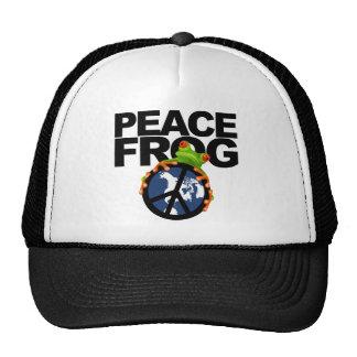 Peace, Frog-2 Trucker Hat
