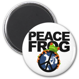 Peace, Frog-2 Magnet