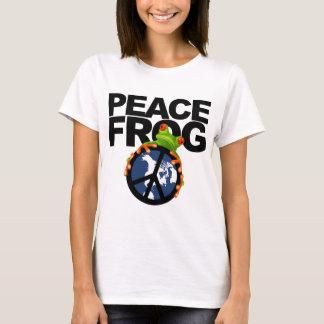 peace frog-2 T-Shirt
