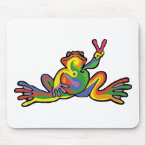Peace Frog Mouse Pad