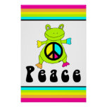 Peace Frog Posters