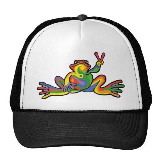 Peace Frog Trucker Hat