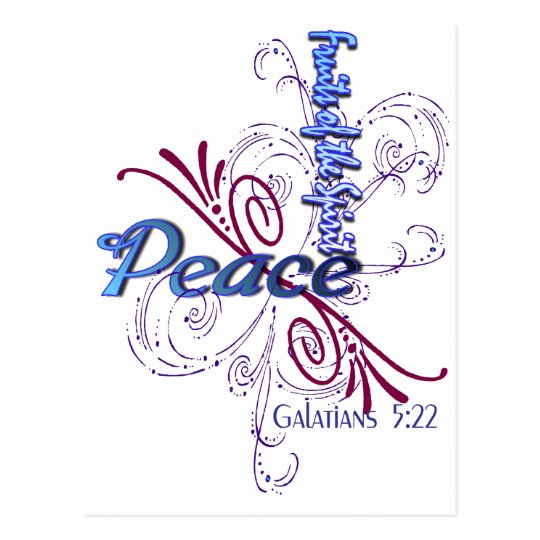 Peace (Fruits of the Spirit) Postcard
