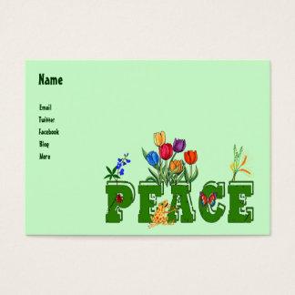 Peace Garden Business Card