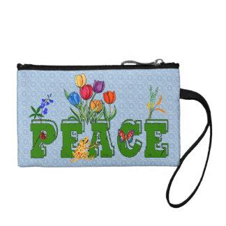 Peace Garden Coin Purse
