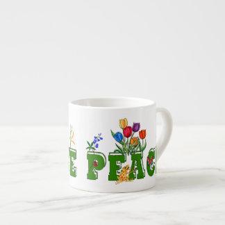 Peace Garden Espresso Cup