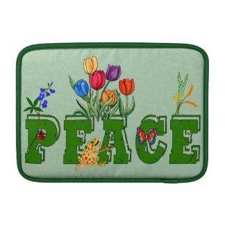 Peace Garden Sleeve For MacBook Air