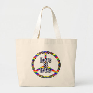 Peace Gay Rights Tote Tote Bag