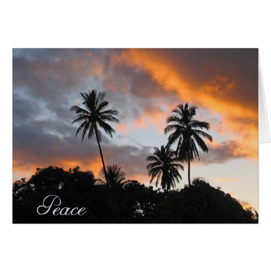 Peace - get well/encouragement card