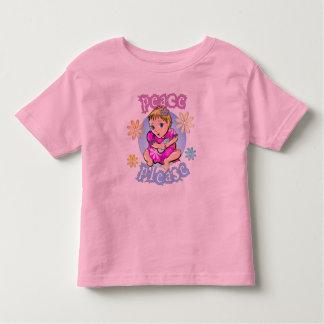 Peace Girl Tee Shirts