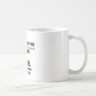 Peace give! coffee mug
