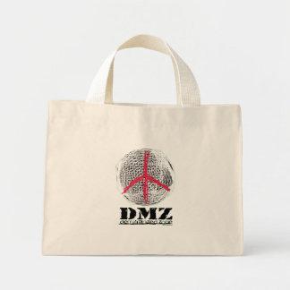 Peace Globe no war no fighting no violence love Mini Tote Bag