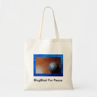 Peace Globe Tote Bag