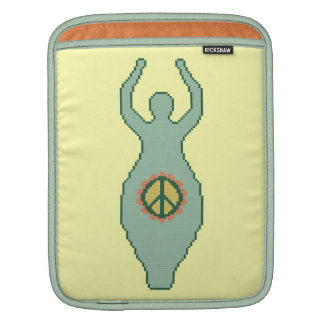 Peace Goddess iPad Sleeve