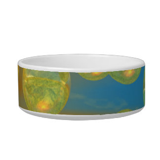Peace – Golden and Emerald Serenity Bowl