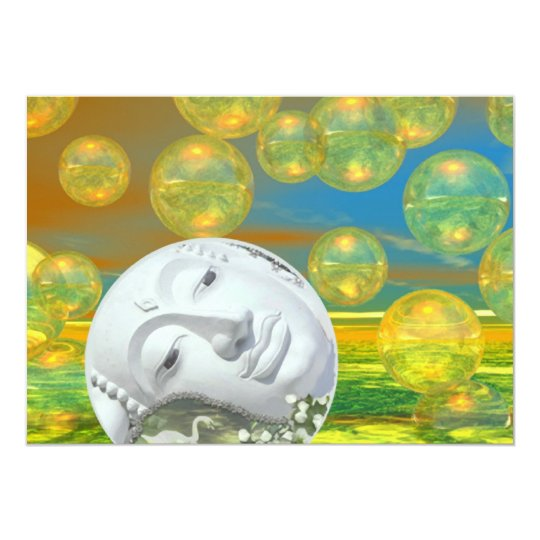 Peace – Golden and Emerald Serenity Card