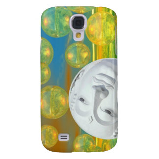 Peace – Golden and Emerald Serenity Galaxy S4 Covers