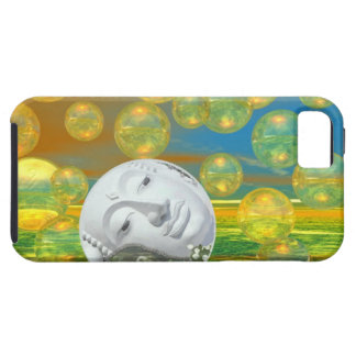 Peace – Golden and Emerald Serenity iPhone 5 Case